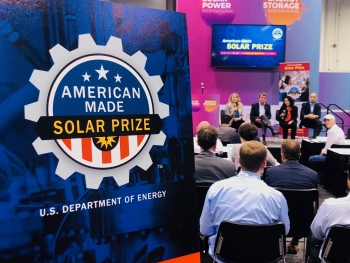 """The """"Movers and Makers: Spurring Solar Innovation through Prize Competitions"""" panel at Solar Power International"""