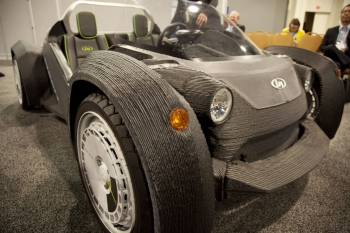 Local Motors' 3D-printed Car