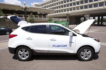 A Hydrogen-Fueled Hyundai