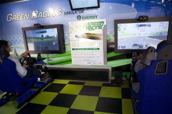 Simulating Sustainable Racing