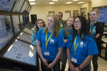 Students at an Idaho National Laboratory STEM event.