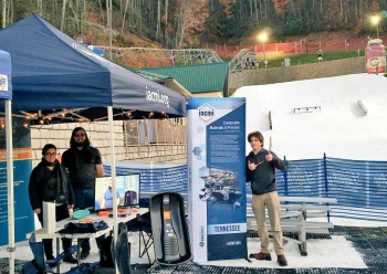 IACMI has facilitated a research project enabling undergraduate and graduate students at the University of Tennessee, Knoxville (UTK) to design, build, and test composite snow sled prototypes. IACMI and the UTK students are presenting the prototype sleds