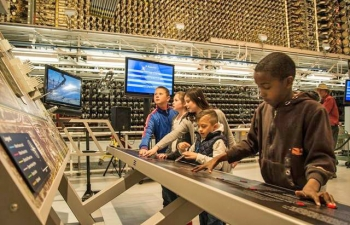 NPS visitors of all ages can visit the B Reactor at the Hanford, Washington, site.