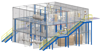 Artist rendition of the Integrated Effects Tests (IET) facility.