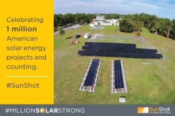 With 1 Million Solar Projects Across America Sunshot