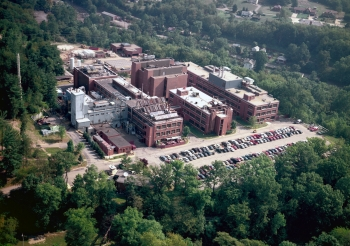 Pictured is NETL in Pittsburgh, PA.