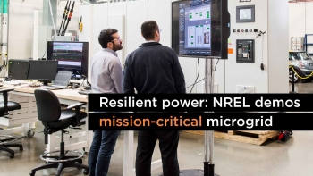 Resilient Power: NREL Demos Mission-Critical Microgrid