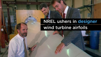 NREL Ushers in Designer Wind Turbine Airfoils