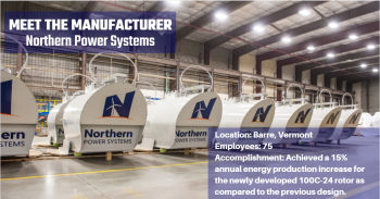 Manufacturer: Northern Power Systems
