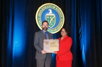 Federal Small Business Achievement of the Year (Non - Facility Management Contractor Program Office)