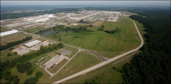 The property DOE is transferring to the Southern Ohio Diversification Initiative is about 80 open acres in size, located adjacent to Perimeter Road in the southeast portion of the Portsmouth Gaseous Diffusion Plant site.