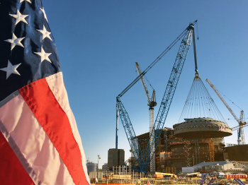 Plant Vogtle is the nation's only nuclear construction project