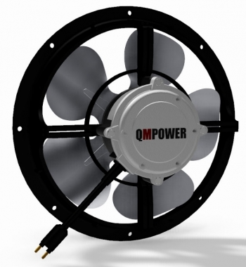 Q-Sync High Efficiency 9-12 Watt Fan Motors.