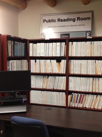 LANL Reading Room