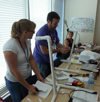 Teachers with WindTurbines: