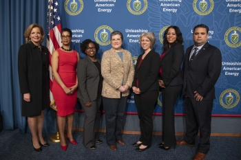 A photo from Special Observances celebrations at the DOE.
