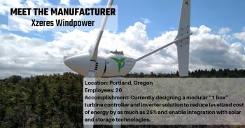 Manufacturer: Xzeres Windpower