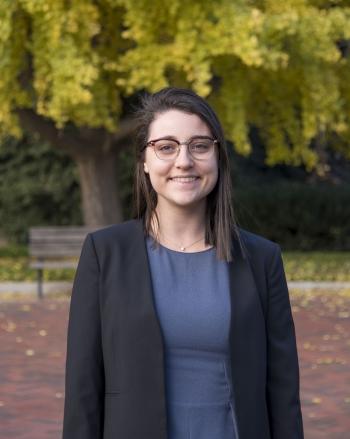 NNSA Graduate Fellow Juliette Bronchtein