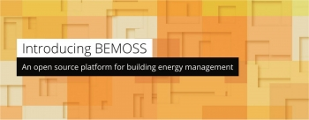 """Graphic that says """"Introducing BEMOSS: An open source platform for building energy management."""""""