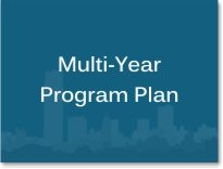 "Box graphic with the words ""Multi-Year Program Plan."""