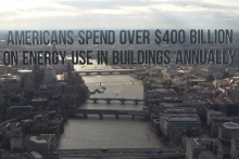 Graphic: Americans spend over $400 billion on energy use in buildings annually.
