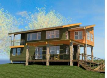 GRAND WINNER FINALIST: The Three Rivers House – Three Rivers Design