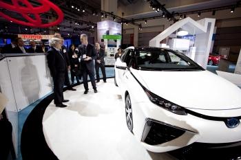 The Toyota Mirai FCV
