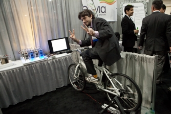 Biking for Batteries