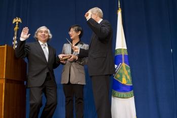 Swearing in as Secretary of Energy