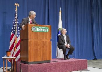 John P. Holdren and Dr. Ernest Moniz