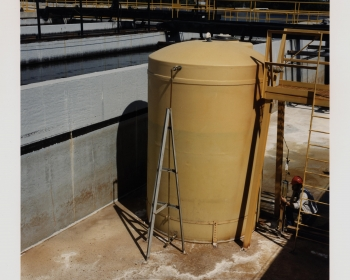 Fresh water tanks at the West Hackberry site.