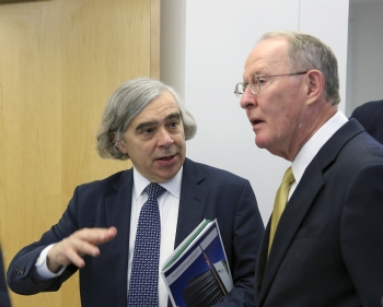 Energy Secretary Moniz and Sen. Alexander