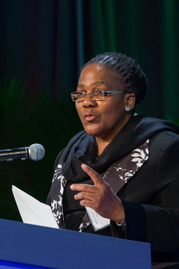 H.E. Dipuo Peters - Energy Minister in South Africa