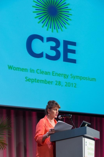 Melanie Kenderdine, Executive Director of the MIT Energy Initiative