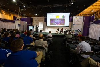 Public pitches at AWEA WINDPOWER.