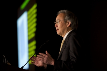 Energy Secretary Steven Chu at SunShot Grand Challenge
