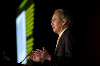 Energy Secretary Steven Chu at SunShot Grand Challenge