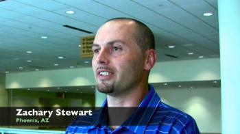 Zachary Stewart at the National Weatherization Conference