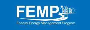 Federal Energy Management Program (FEMP) Logo.