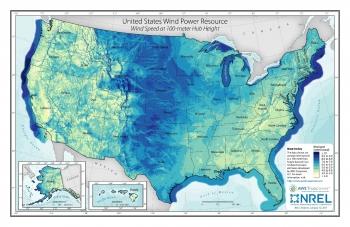United States Wind Power Resource