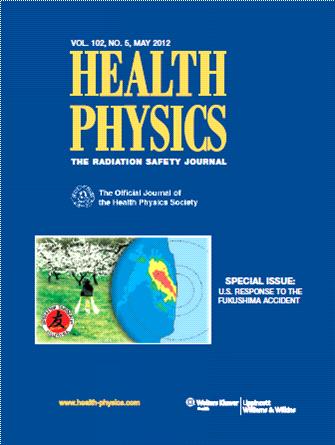 Health Physics Cover
