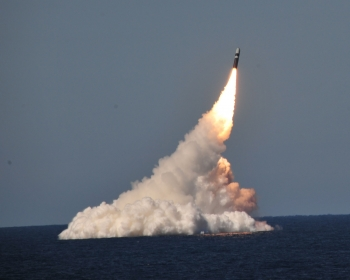 Launch of a Trident II D5 Missile Test