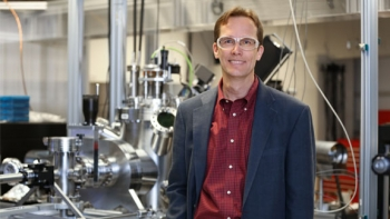 Hans Christen directs nanoscale material science research at the Center for Nanophase Material Sciences in east Tennessee.