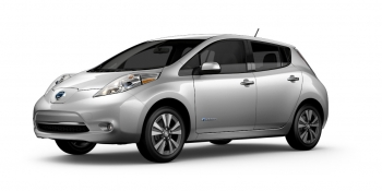 Manufacturer photo of a Nissan Leaf