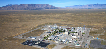 Aerial view of INL.