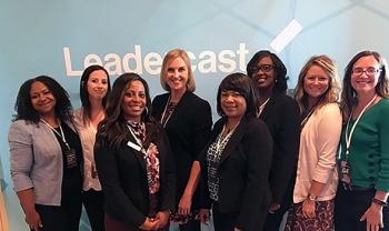 Savannah River Site Women in Nuclear members participate in the 2017 Leadercast Women event in Atlanta.