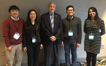 Photo of the 2018 SSL student poster competition winners.
