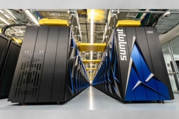 Summit supercomputer at Oak Ridge National Laboratory