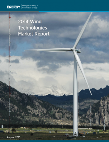 Cover of 2014 Wind Technologies Market Report