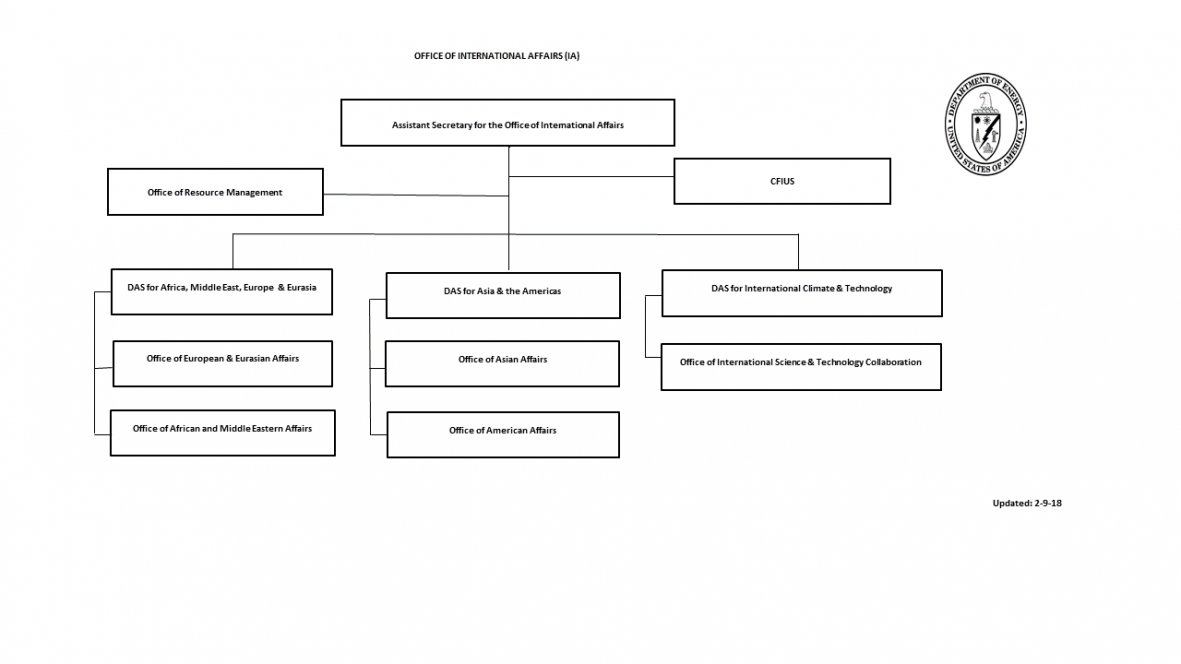Organizational Structure of the Office of International Affairs ...
